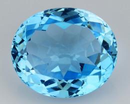 19.48 Cts Fancy Topaz Excellent Luster & Color Gemstone TP18