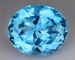21.13 Cts Fancy Topaz Excellent Luster & Color Gemstone TP20