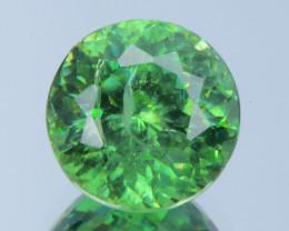 1.63Ct Demantoid Garnet Round Cut Gemstone