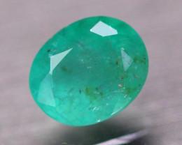 2.54Ct Natural Zambia Green Emerald Oval Cut Lot V8281