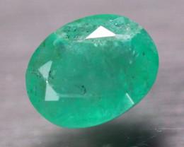 3.00Ct Natural Zambia Green Emerald Oval Cut Lot V8291