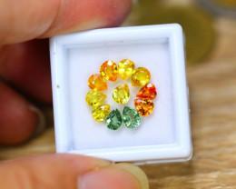 4.21ct Natural Fancy Color Sapphire Pear Cut Lot V8294