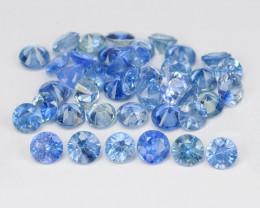 Blue Sapphire 5.19 Cts 41Pcs Natural Color Gemstone - Parcel