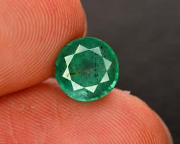 2.25 Ct Brilliant Color Natural Stunning  Emerald Gemstone