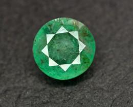2.65 Ct Brilliant Color Natural Zambian Emerald Gemstone