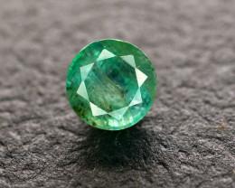 2.10 Ct Brilliant Color Natural Zambian Emerald  Gemstone