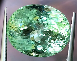 13.76ct Copper Bearing Tourmaline With Excellent Luster And Fine Cu