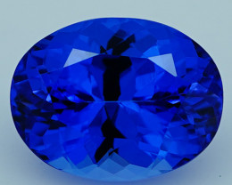 4.50 CT  $1200 Royal Blue Top Quality Natural Tanzanite T2-54
