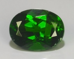 1.50 CTS NATURAL CHROME DIOPSIDE TOP GREEN COLLECTION