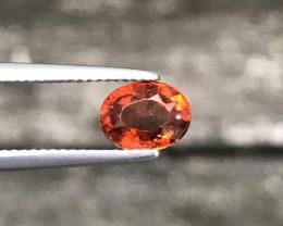 1.785Cts Hessonite Garnet 100% Natural Unheated SriLankan Mine