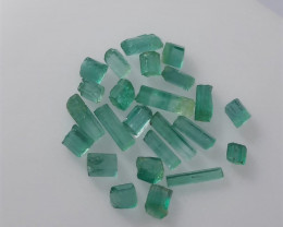 ~NO RESERVE~12.75 Carats Natural Emerald Rough Lot From Panjsher Afghanista