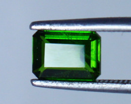1.20 CTs Natural & Unheated~Green Chrome Diopside Gemstone