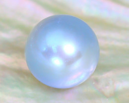 Akoya Blue Pearl 3.86Ct 8.2mm Natural Akoya Blue Pearl SE723