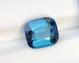 Outrageous Quality Ink Blue Color 4.20 Ct Tourmaline From Afghanistan.