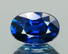 *NR* Royal Blue Sapphire Oval 1.37Ct.