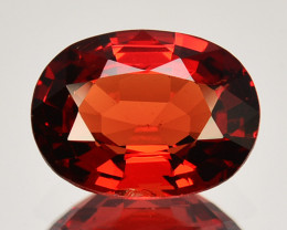 1.62 Cts Beautiful Natural Vivid Red Spinel Cushion Burma