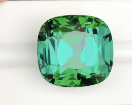 Collector Size Beauty 62.35 Ct Afghan Blue-Green Tourmaline Piece