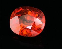 3.85 CTS MARVELOUS NATURAL TOP Orange red -SPESSARTITE DAZZLING