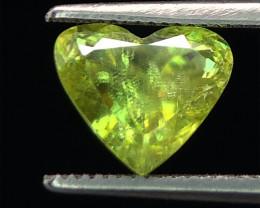 Full Fire Top Luster Natural  Sphene gemstone