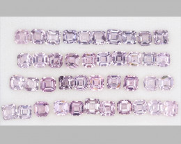 Spinel 16.91 Cts 41pcs 4.00 mm Unheated Pink Spinel Gemstone