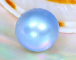 Akoya Blue Pearl 2.66Ct 7.1mm Natural Akoya Blue Pearl SE860