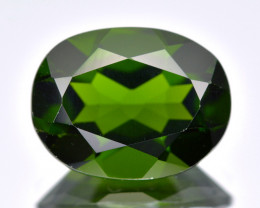 Chrome Diopside 1.87 Cts 100% Unheated Vivid Green Color Natural Gemstone
