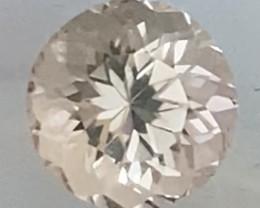 Pretty Luminous Round Morganite - Mozambique