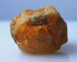82.25 CTs Natural & Unheated~Orange Opal Rough