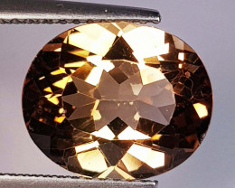 5.65 Ct Top Quality Oval Cut Natural Champagne Topaz