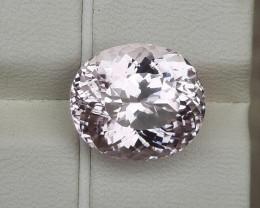 Certified 11.50 Carats Natural Kunzite Nice Cut Gemstone