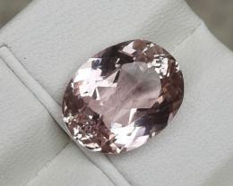 Certified 6.85 Carats Natural Kunzite Nice Cut Gemstone