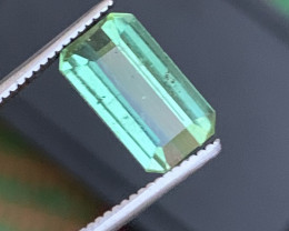 2 carats green  colour Tourmaline Gemstone From  Afghanistan