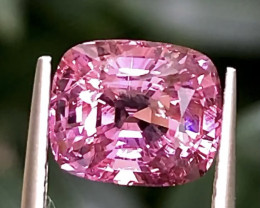 3.20ct  Pink Spinel With Excellent Luster And Fine Cutting  Gemstones