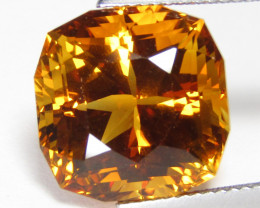 13.40Cts Genuine Natural Citrine Cushion Custom Cut Loose Gemstone