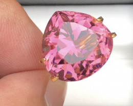 Sensational Quality 17.35 Ct Top Pink Color Tourmaline From Afghanistan
