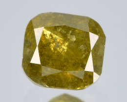 Untreated Diamond 0.12 Cts Sparkling Fancy Golden Yellow Natural Diamond