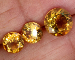 5.23 CTS CITIRINE FACETED  PARCEL NATURAL    RNG-268  RANIGEMS
