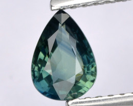 Burma Sapphire 0.71 Cts Unheated Natural Teal Color Gemstone