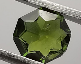 Tourmaline, 0.51ct, not perfect but cut by myself.