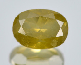Untreated Diamond 0.16 Cts Natural Fancy Greenish Yellow Loose Diamond