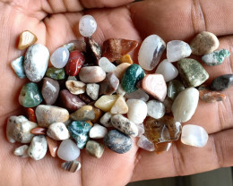200 Ct Tumbled Gemstones Mix Lot 100% NATURAL AND UNTREATED VA1708