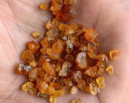50 Ct Orange Garnet Rough Parcel 100% NATURAL AND UNTREATED VA1725