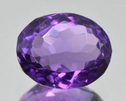 Natural Amethyst 5.39  Cts, Good Quality Gemstone