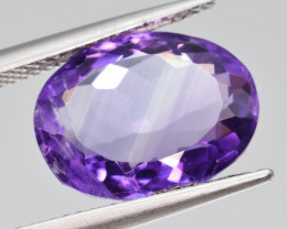 Natural Amethyst 6.36  Cts, Good Quality Gemstone
