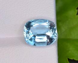 AAA Grade 3.15 ct Santa Maria Color Aquamarine~K