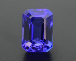 AAA Grade Tanzanite 3.45 ct Attractive Blue Hue SKU-41