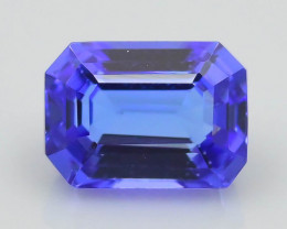 AAA Grade Tanzanite 2.30 ct Attractive Blue Hue SKU-41