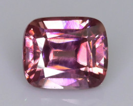 Rare Red Zircon 1.65 ct Imperial Specie Cambodian Mined SKU.20