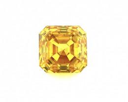 0.76 CT Diamond Gemstones Top Yellow color