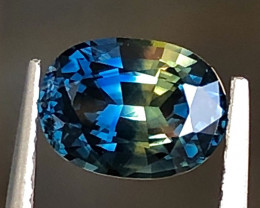 1.73ct Bicolor Sapphire With Excellent Luster And Fine Cutting  Gemstone